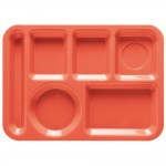ABS serving tray red