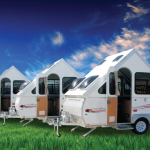 extreme composite plastic camper trailer