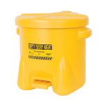 POLYPROPYLENE MATERIAL HANDLING DISPENSER BIN YELLOW