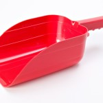 POLYPROPYLENE RED SCOOP HIGH GLOSS