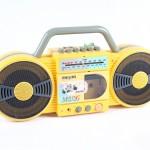 high impact polystyrene radio