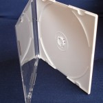 hips cd case clear and white