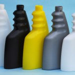 plastic bottles made from hdpe