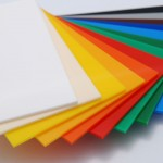 solid colour acrylic perspex