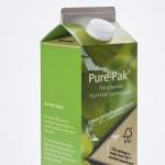 Green PE Carton