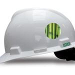Green PE Safety Helmet