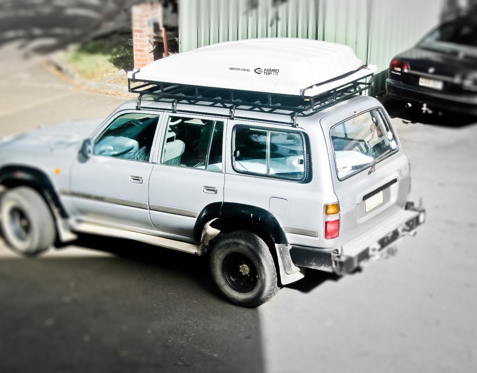 hard top rack mounted