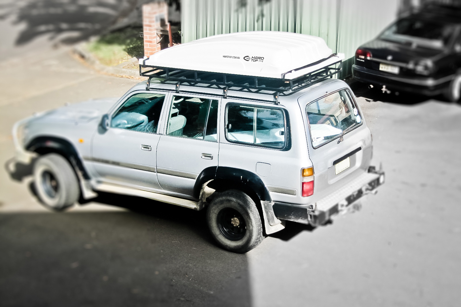 hard top rack mounted