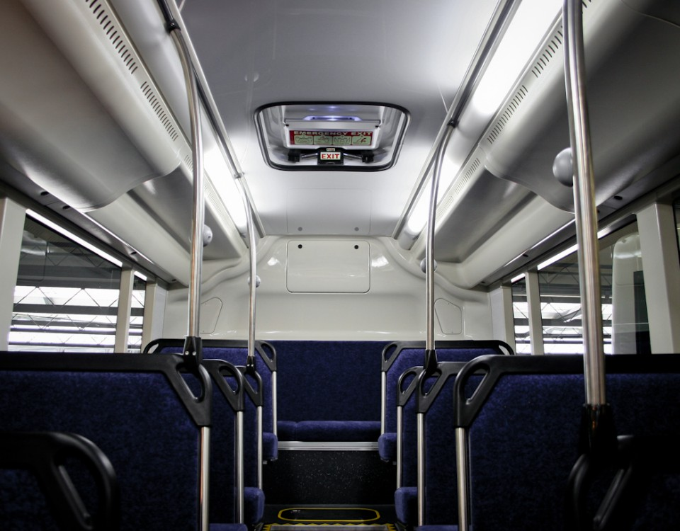 bus interior plastic parts