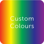 plastic swatches custom colours