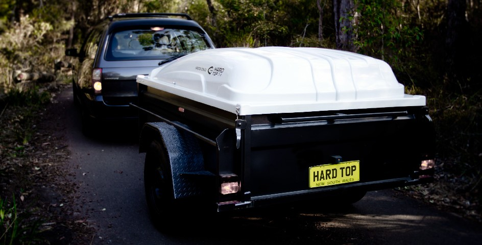 plastic hard top trailer cover
